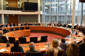 Bundestag Ausschusssaal